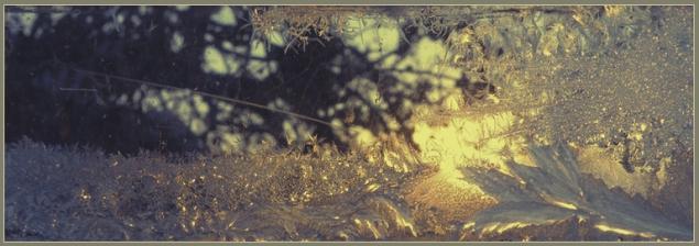 окно  узоры блики солнце