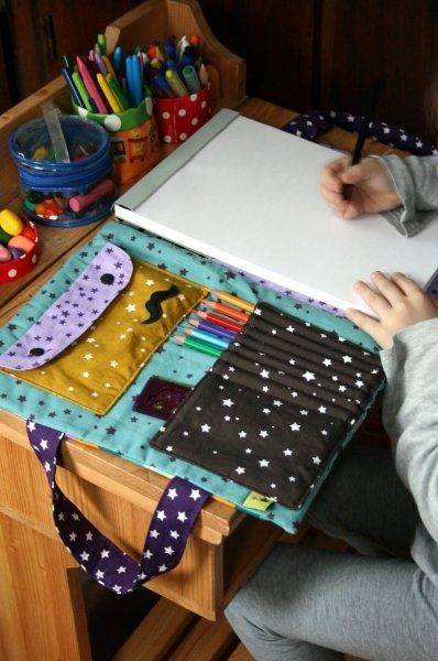 Органайзер для художников своими руками