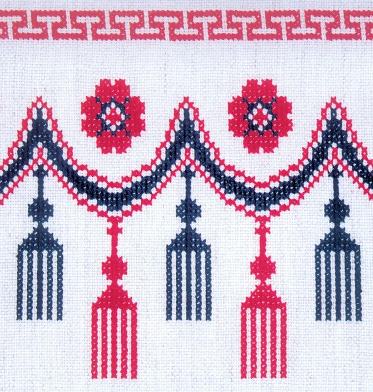 Секреты вышивки крестом с чистой изнанкой. Часть 1, фото № 23