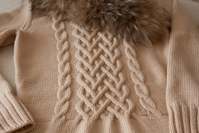 Осинка вязание аранов 45