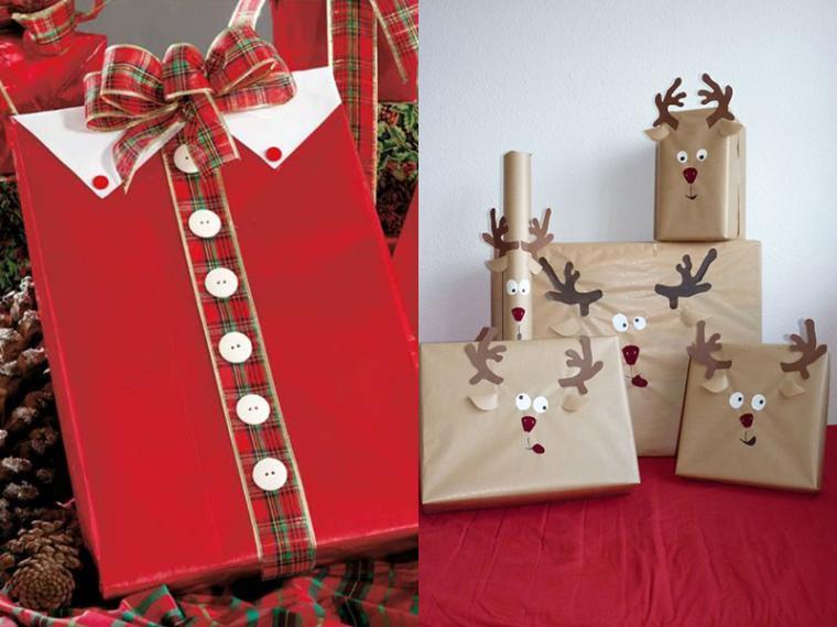 Новогодние подарки и упаковка