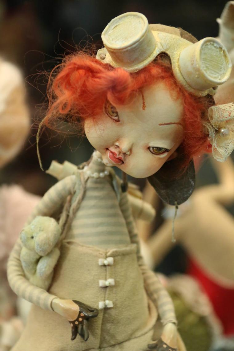 darena borysova, интерьерная кукла, кукла ручной работы