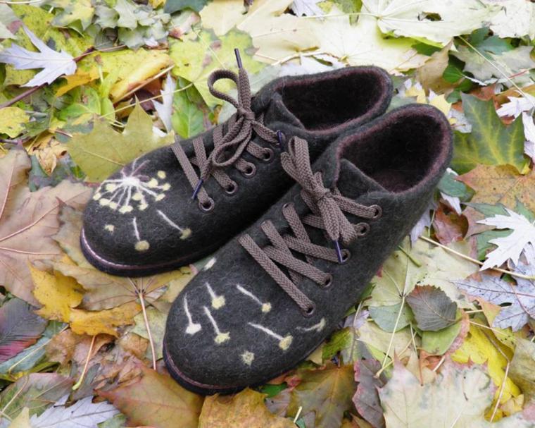 обувь, войлоковаляние