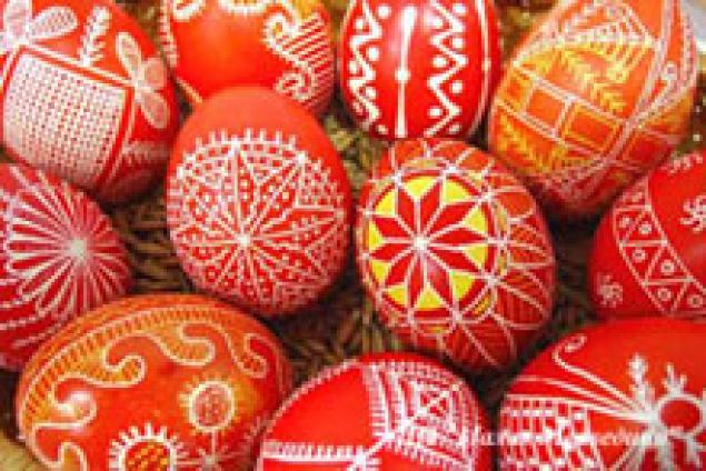 писанка, яйца к пасхе, символы