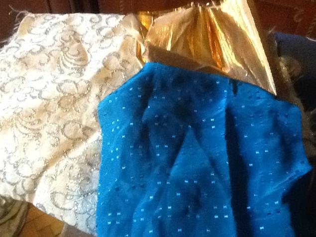 одежда для кукол, ткани, даром