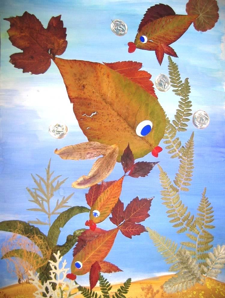 Поделки на тему осень в садик в картинках