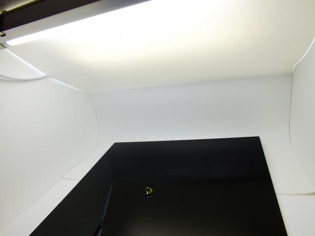 фото работ, световой куб