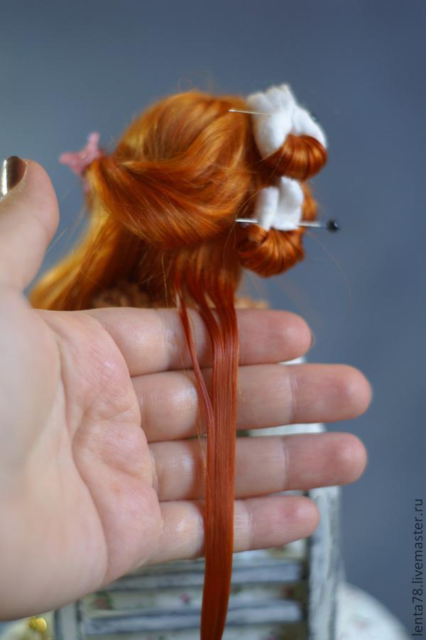 Как сделать кудрявые куклы
