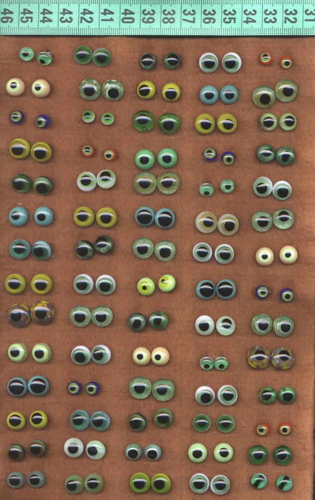 глазки для игрушек
