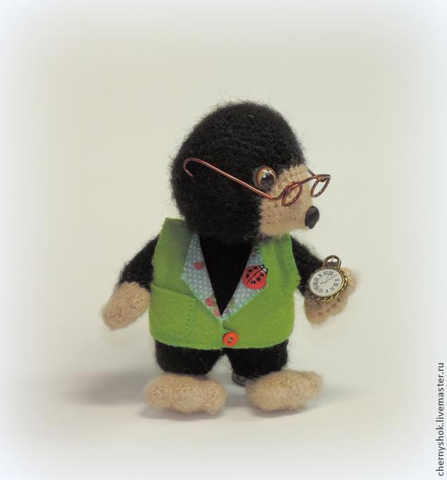 Маленький кротик (описание вязания), фото № 4