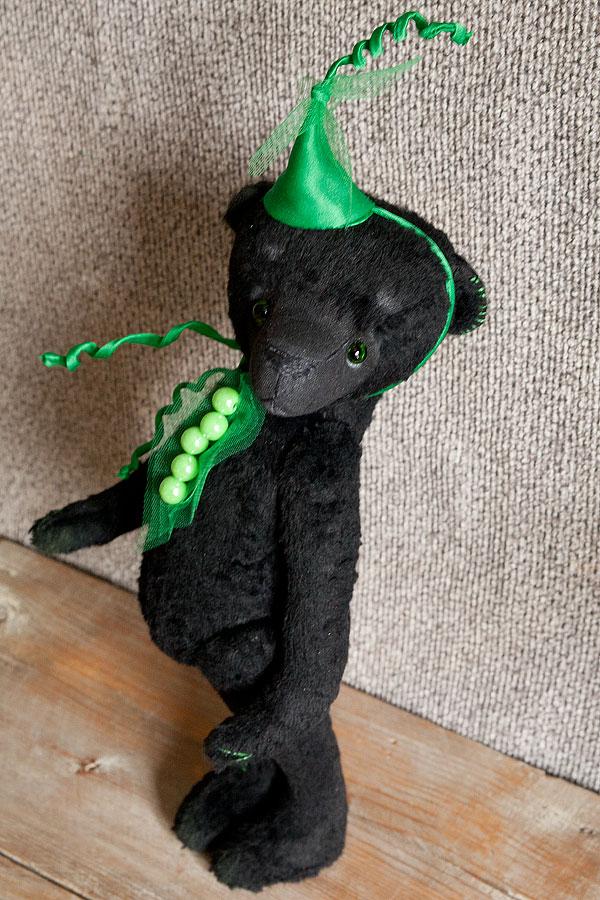 черный мишка