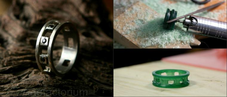 серебро, кольцо своими руками, артефакториум, ювелирное дело