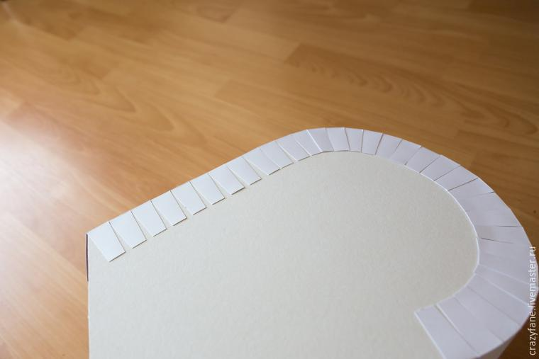 Как сделать сундук для денег из картона 10