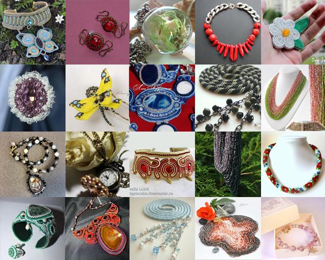 бижутерия, галерея бижутерии, украшения, бижутерия своими руками, украшения ручной работы