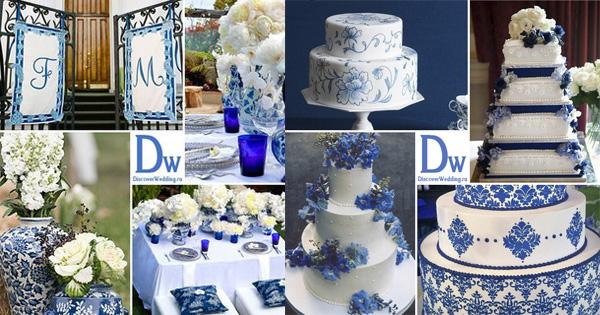 акция магазина, свадебный комплект, гжель, белый цвет, свадьба