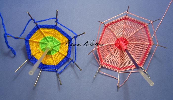Зонтик из проволоки