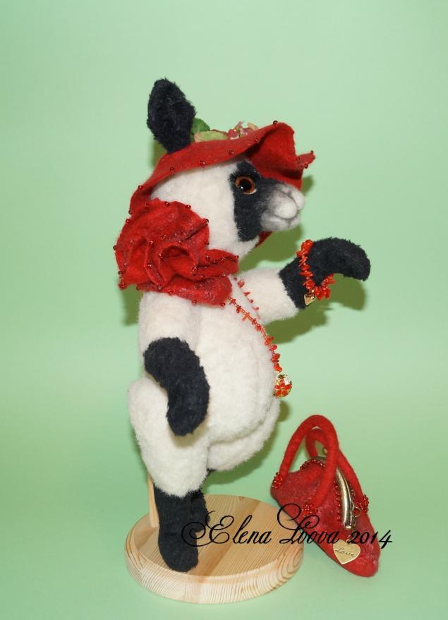 интерьерная композиция, коллекционная овечка