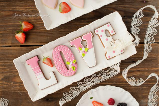 love, сладкий подарок, белый