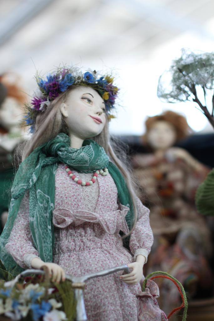 Международной выставка авторских кукол и мишек «Панна DOLL'я» в Минске. Часть 1., фото № 18