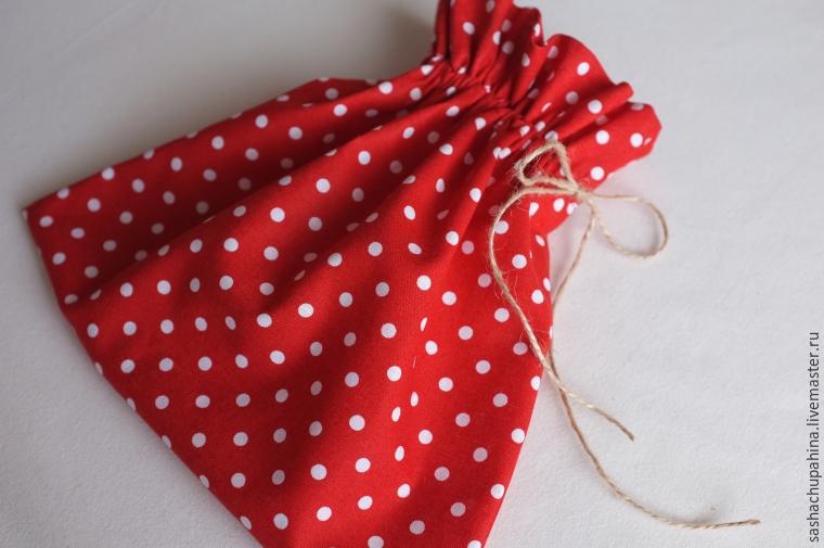 Сшить подарочный мешочек