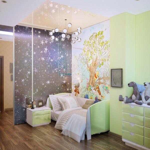 комната для детей, для вдохновения