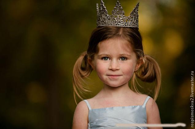 Корона для  девочки  , очень  быстрая  и простая!, фото № 14