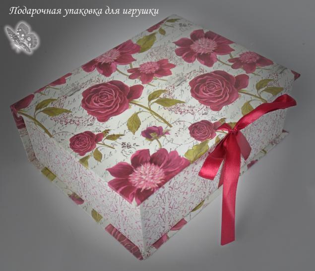 подарочная упаковка, мягкие игрушки