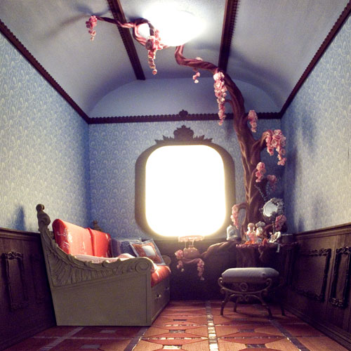 Невероятные кукольные домики и интерьеры Hila Rosenberg. Часть 2, фото № 26