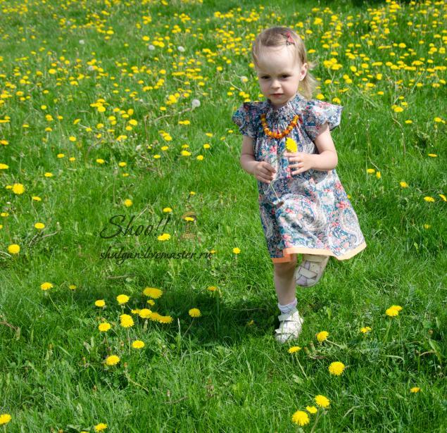 фотография, платье для девочки