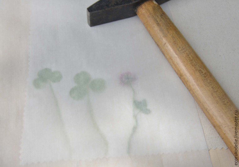 How to Make Plant Prints on Fabric, фото № 5