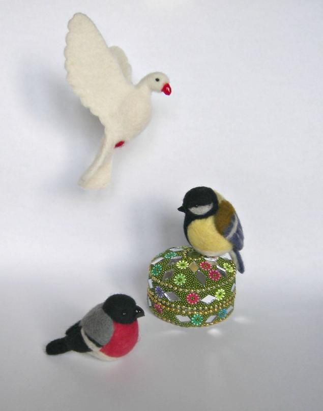 Своими рукам птички мастер класс