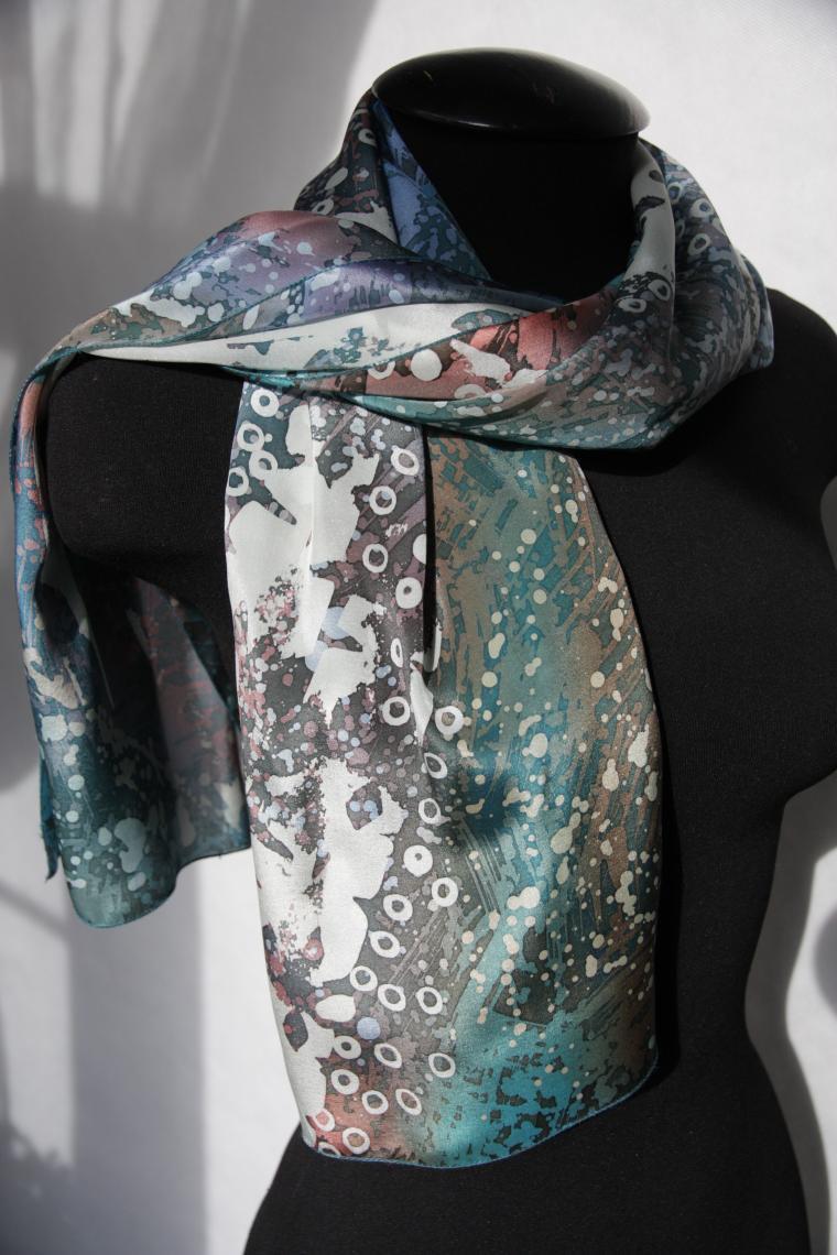 роспись по ткани, batik