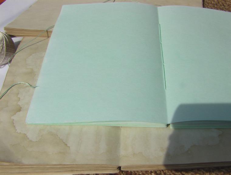 блокноты ручной работы, окрашенная бумага