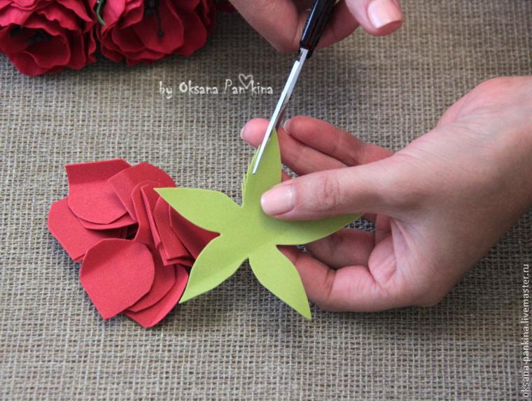 Фоамиран цветы своими руками мастер фото 862