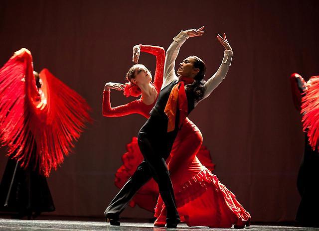 фламенко фото танец
