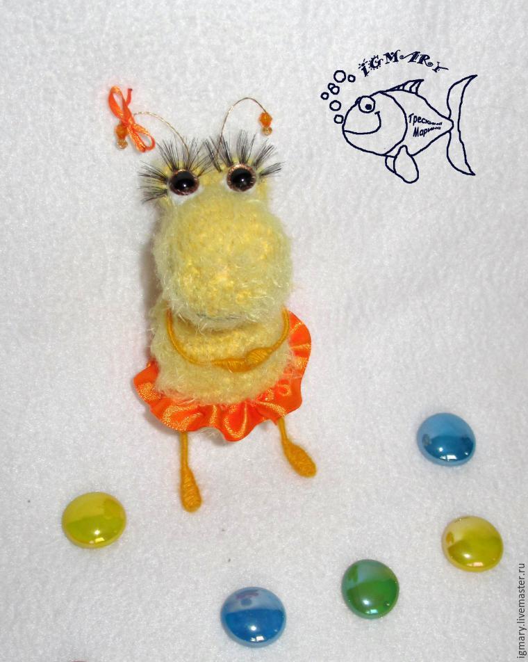 Мастер-класс: вязаные тараканчики, фото № 14
