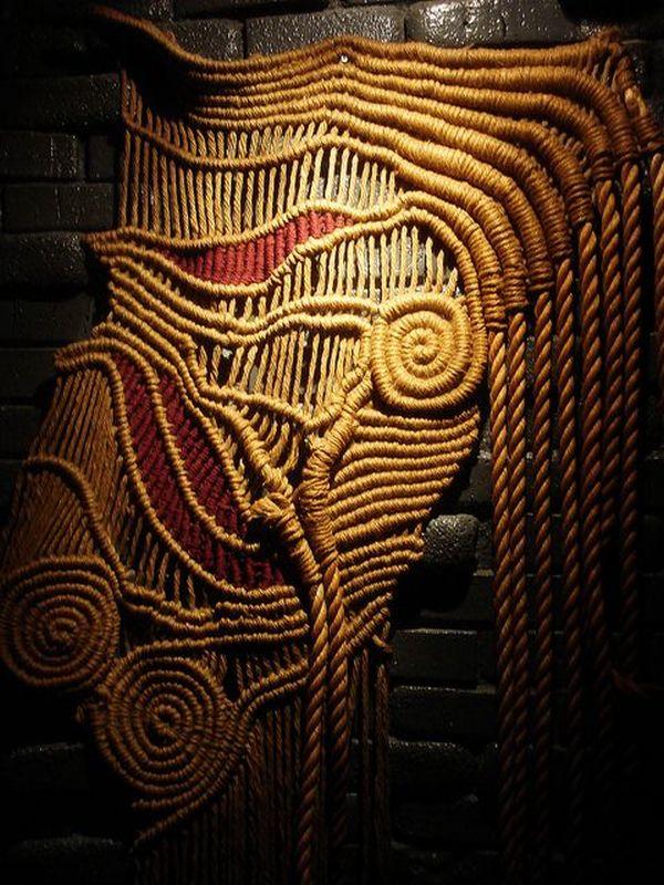 室内装饰技术的流苏花边(绳编)创意(一) - maomao - 我随心动