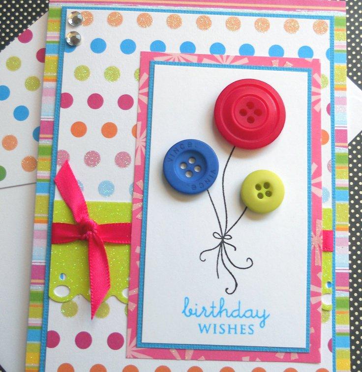 Простая открытка своими руками на день рождения тете