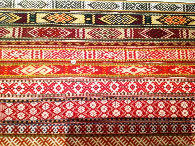ткачество поясов, славянские символы