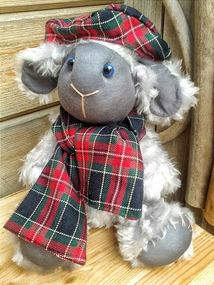 мастер-класс по игрушкам, куклы и игрушки, игрушка ручной работы, овечка, символ 2015 года, игрушка в подарок