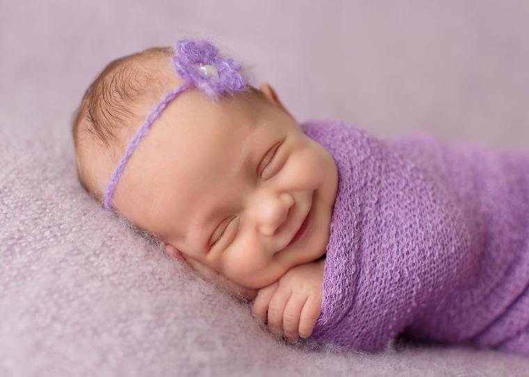 улыбки младенцев