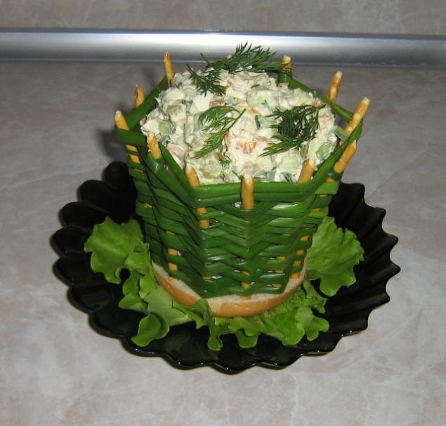 Просто и легко салаты