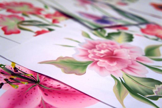 роспись цветы, мастер класс москва