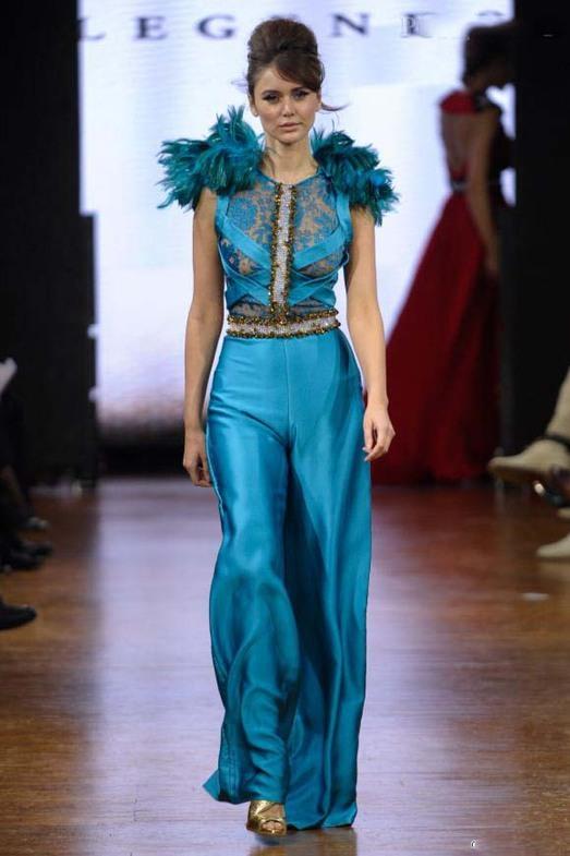Legends by Bilal Barrage Haute Couture весна-лето 2014, фото № 17