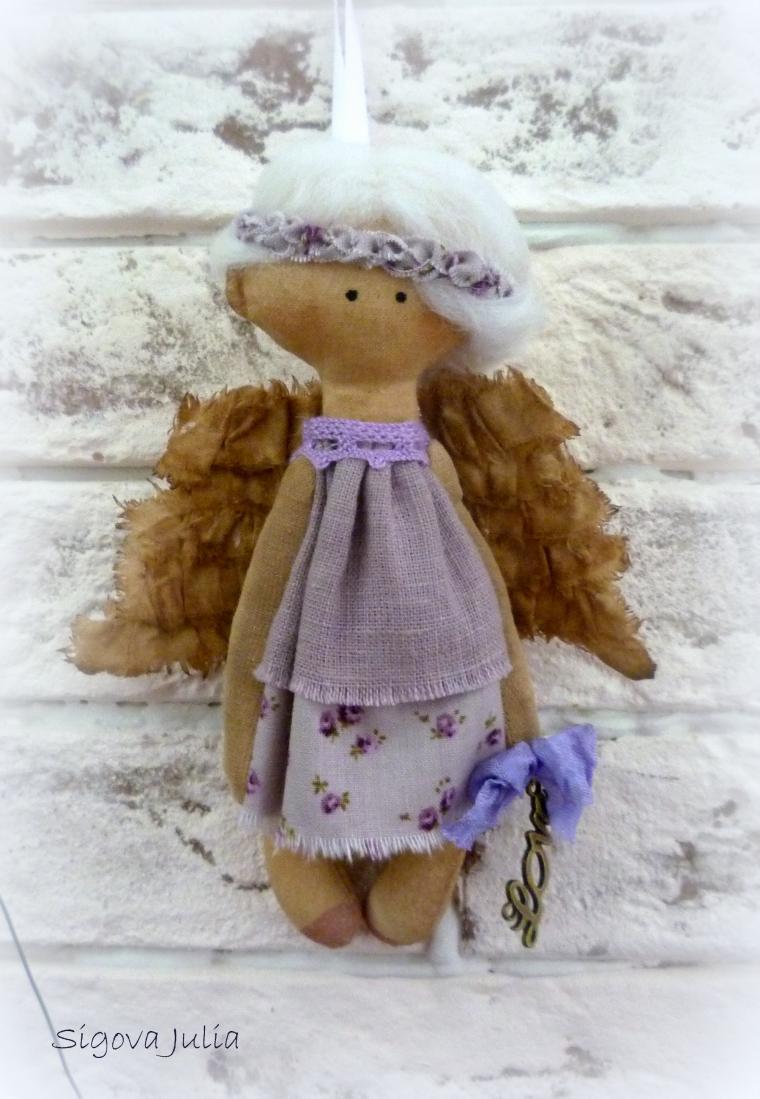 текстильный ангел