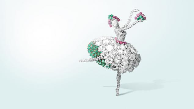 Танец, как источник вдохновения в украшениях Van Cleef & Arpels, фото № 11