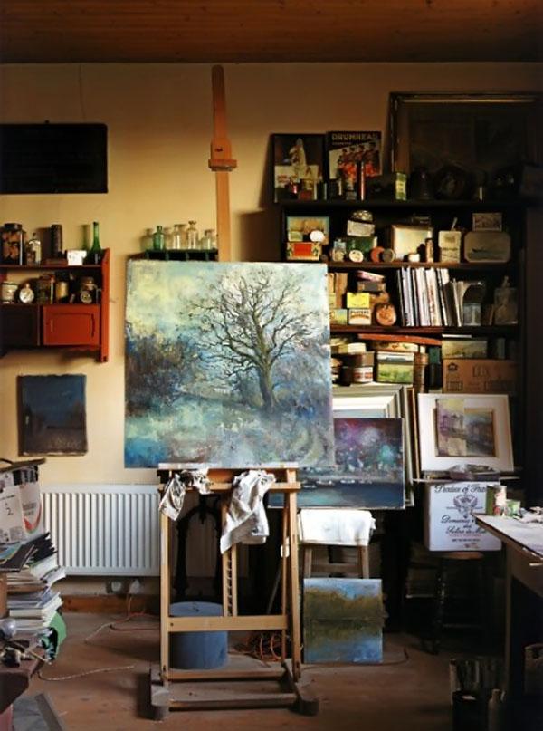 Там, где живет вдохновение: 55 мастерских художников - Ярмар.
