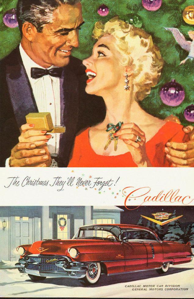 Новогодняя реклама Vintage/1951 -1956 включительно, фото № 41