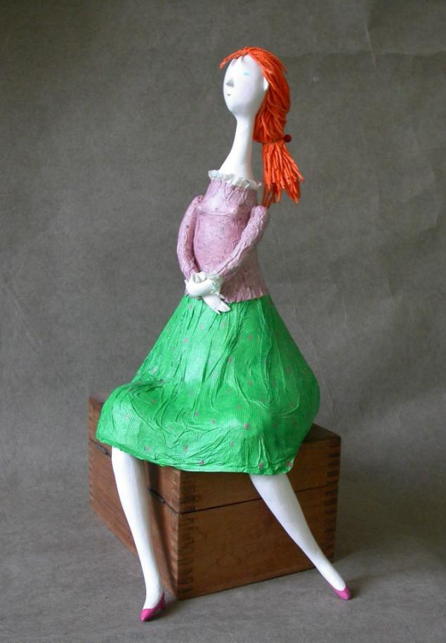 авторский курс, белье, кукла