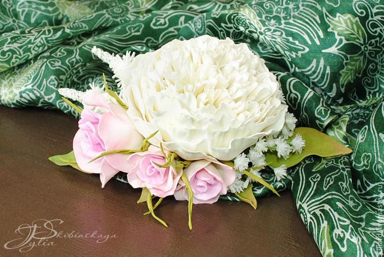 мастер-класс по цветам, цветы из фоамирана, фоам